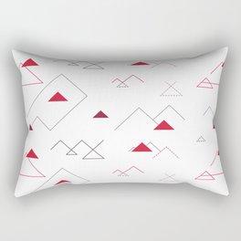 Tree-Angle Rectangular Pillow