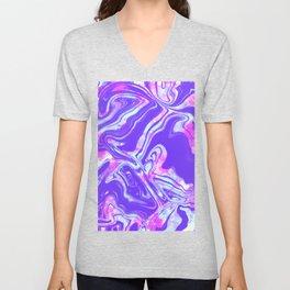 Pastel Tie Dye Unisex V-Neck