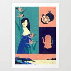 Sarashiva I Art Print