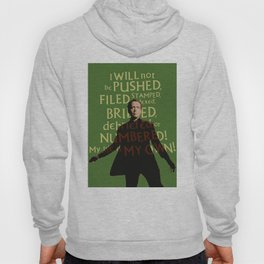 The Prisoner - I Will Not be Pushed Hoody