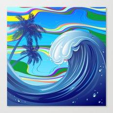 Sea Ocean big Wave Canvas Print