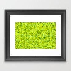 #MoleskineDaily_45 Framed Art Print