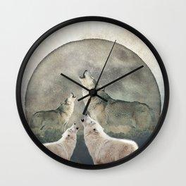 Aegis Wolves Wall Clock