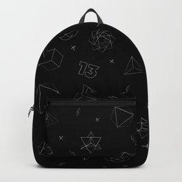 sacred seamless black Backpack
