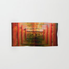 The Surface of Solitude-Infinity Hand & Bath Towel