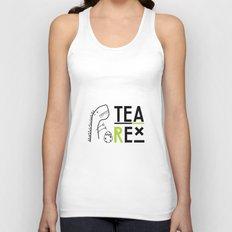 Tea-Rex Unisex Tank Top