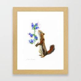 Take Time To Smell The Flowers by Teresa Thompson Framed Art Print