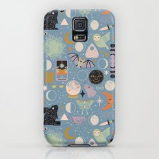 Lunar Pattern: Blue Moon Galaxy S5 Slim Case