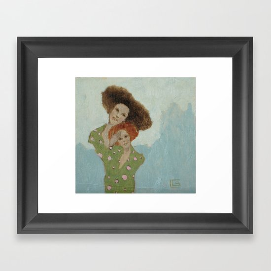 "#16 - ""Dear"" Framed Art Print"
