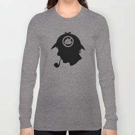 No Shit Sherlock Long Sleeve T-shirt