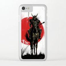 Samurai Master Clear iPhone Case