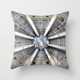 The Large Hadron Collider Throw Pillow