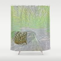 "helen Shower Curtains featuring ""Dreaming of Helen"" by jjhelene"