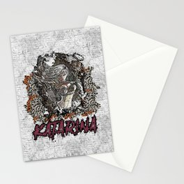 League of Legends KATARINA graffiti style Stationery Cards