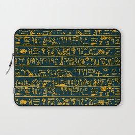 Egyptian hieroglyphs Laptop Sleeve
