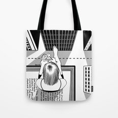 The End of the Story Tote Bag