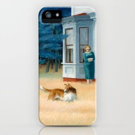 Edward Hopper, Cape Cod Evening, 1939 iPhone Case