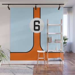 Gulf Le Mans Tribute design Wall Mural