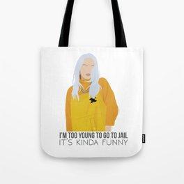 Billie Eilish - Bellyache Tote Bag