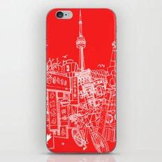 Toronto! (Dark T-shirt Version) iPhone & iPod Skin