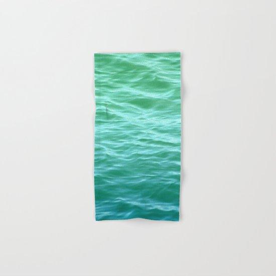 Teal Sea Hand & Bath Towel