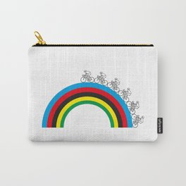 Rainbow Jersey Carry-All Pouch