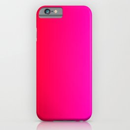 Red To Pink Gradient iPhone Case