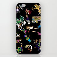 cartoons iPhone & iPod Skins featuring 2014 Cartoons 1 by Reid