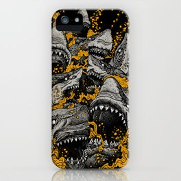 Sharks (Color version) iPhone Case