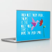 lyrics Laptop & iPad Skins featuring Hummingbird - The Weepies Lyrics by Crafts and Dogs