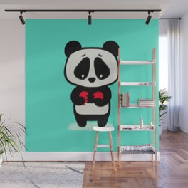 Sad Panda Wall Mural
