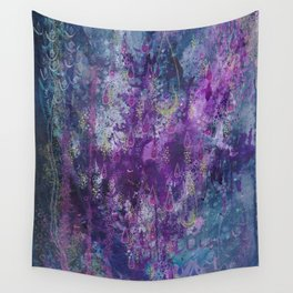 nocturnal bloom Wall Tapestry