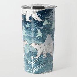 Ice Bears Travel Mug