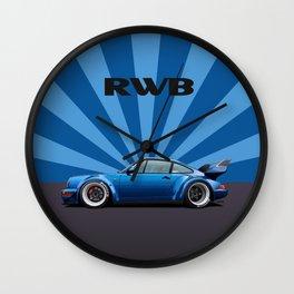RWB 964 Turbo F&F Wall Clock