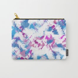 Abstraction . Colorful brush strokes. Carry-All Pouch