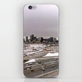 Denvers First Snow iPhone Skin