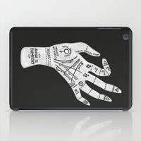 reading iPad Cases featuring Palm Reading by Cat Coquillette