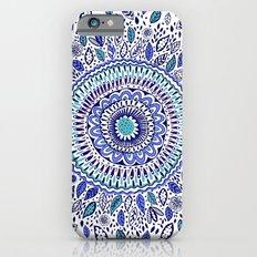 Indigo Flowered Mandala Slim Case iPhone 6
