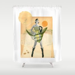 High Fishin' Shower Curtain