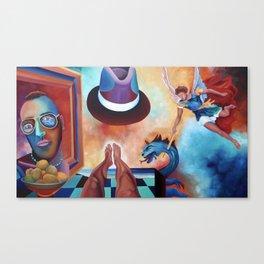 ARTIST FRANCESCO BOSCO Canvas Print