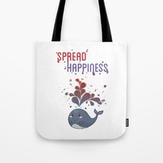 Spread Happiness Tote Bag