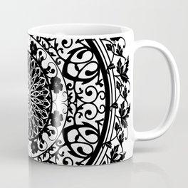 Mandala Flowers Coffee Mug