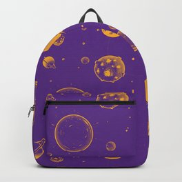 Purple and orange planetary, energy and space rocks! Backpack