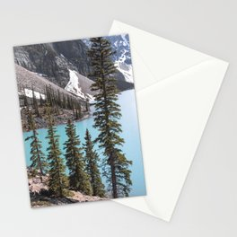 Moraine Lake Vertical Print Stationery Cards