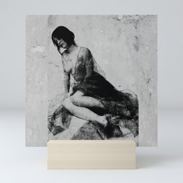 Wounded soul Mini Art Print