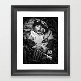 Bolivian Baby Framed Art Print