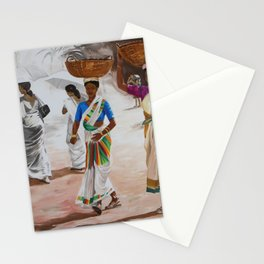 Indian beauties Stationery Cards