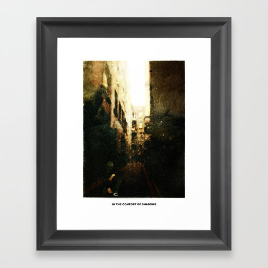 In The Comfort Of Shadows Framed Art Print