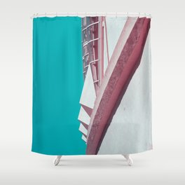 Surreal Montreal 2 Shower Curtain