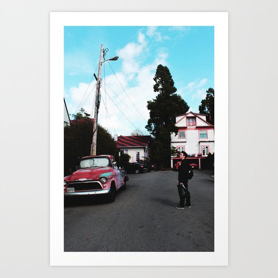 BERKELEY Art Print